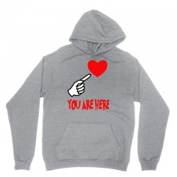 you are here Unisex Hoodie | Artistshot