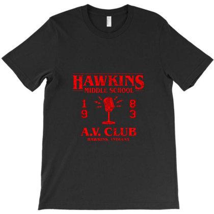 Hawkins Monster Hunters Jersey T-shirt Designed By Blanrem