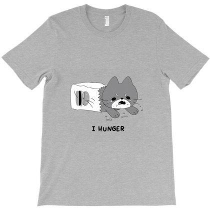 I Hunger T-shirt Designed By Blanrem
