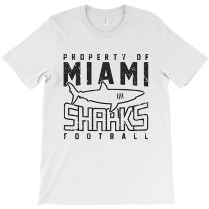 Miami Sharks T-shirt Designed By Allstar
