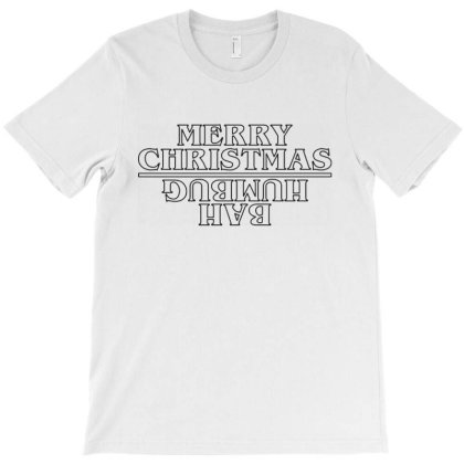 Merry Christmas Bah Humbug T-shirt Designed By Allstar