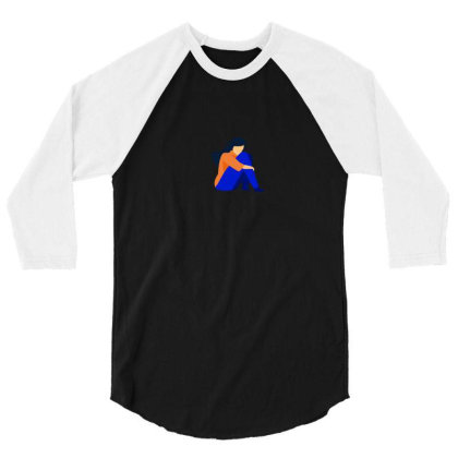 Depressed 3/4 Sleeve Shirt Designed By Aditi Rana