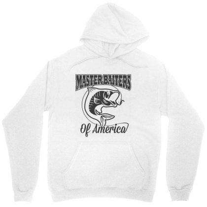 Master Baiter Fishing Club Unisex Hoodie Designed By Allstar