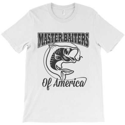 Master Baiter Fishing Club T-shirt Designed By Allstar