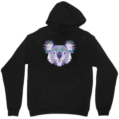 Geometric Koala Funny Animal T Shirts Unisex Hoodie Designed By Gnuh79
