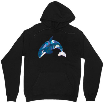 Geometric Orca Whale Funny Animal T Shirts Unisex Hoodie Designed By Gnuh79