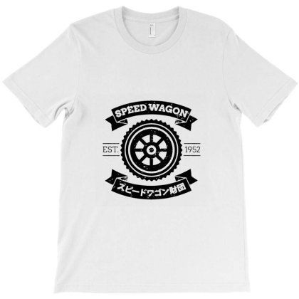 Spw   Speed Wagon Foundation T-shirt Designed By Elga Vaniaputri