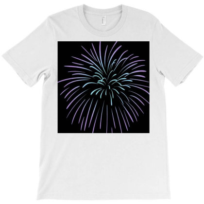 Handmade Fireworks T-shirt Designed By American Choice