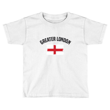Greater London Toddler T-shirt Designed By Chris Ceconello