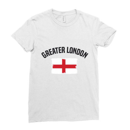Greater London Ladies Fitted T-shirt Designed By Chris Ceconello