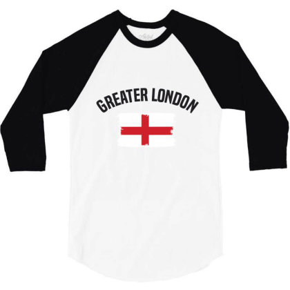 Greater London 3/4 Sleeve Shirt Designed By Chris Ceconello