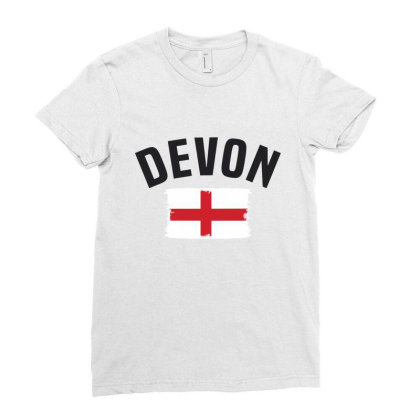Devon Ladies Fitted T-shirt Designed By Chris Ceconello