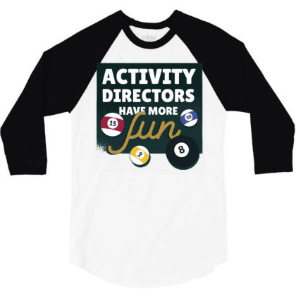Activity Directors 3/4 Sleeve Shirt Designed By Igaart
