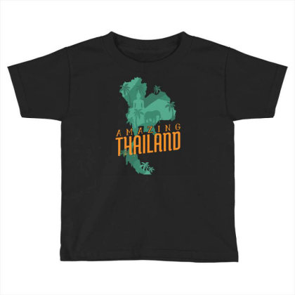 Amazing Thailand Toddler T-shirt Designed By Igaart