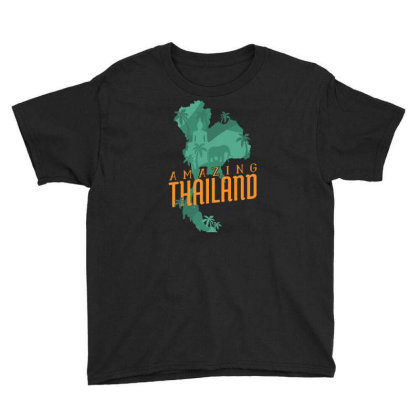 Amazing Thailand Youth Tee Designed By Igaart