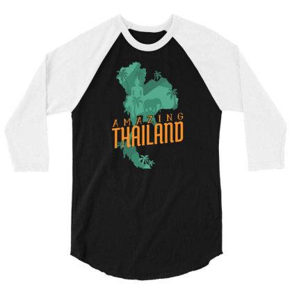 Amazing Thailand 3/4 Sleeve Shirt Designed By Igaart