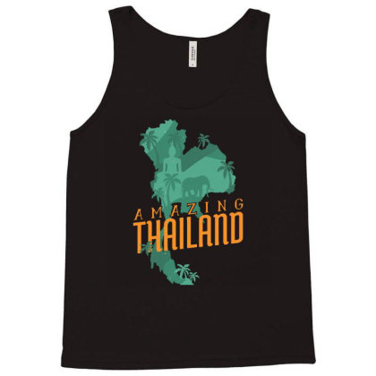 Amazing Thailand Tank Top Designed By Igaart