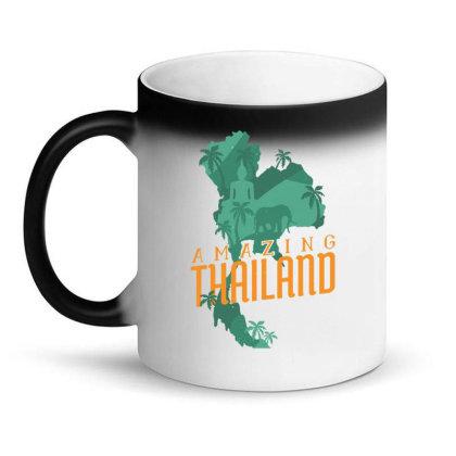 Amazing Thailand Magic Mug Designed By Igaart