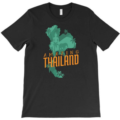 Amazing Thailand T-shirt Designed By Igaart