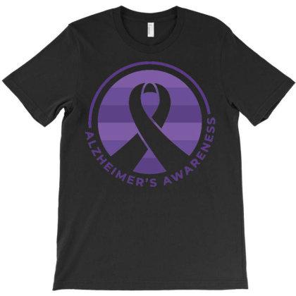 Alzheimer's Awareness T-shirt Designed By Igaart