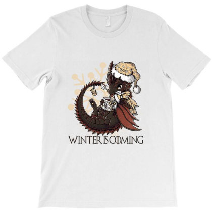 Winter Is Coming T-shirt Designed By Martinezart