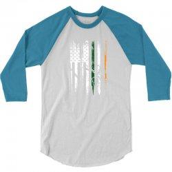 irish police st. patrick's day tribute! 3/4 Sleeve Shirt   Artistshot