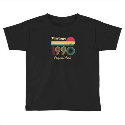 1990 Toddler T-shirt Designed By Disgus_thing