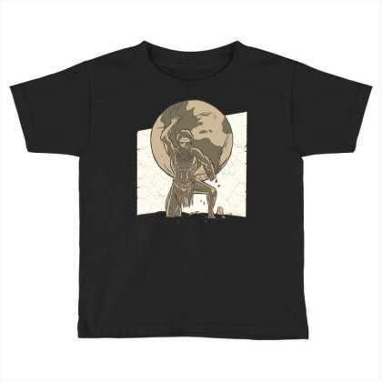 Atlas Toddler T-shirt Designed By Igaart