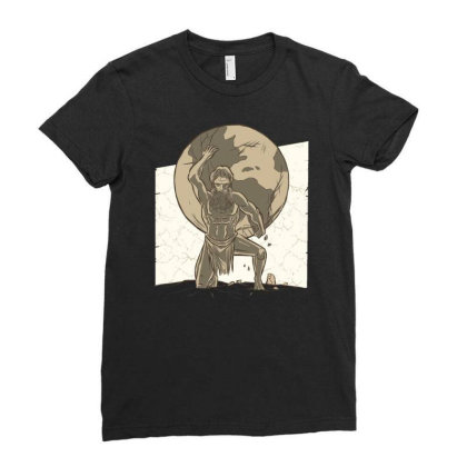 Atlas Ladies Fitted T-shirt Designed By Igaart