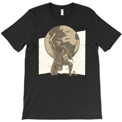 Atlas T-shirt Designed By Igaart
