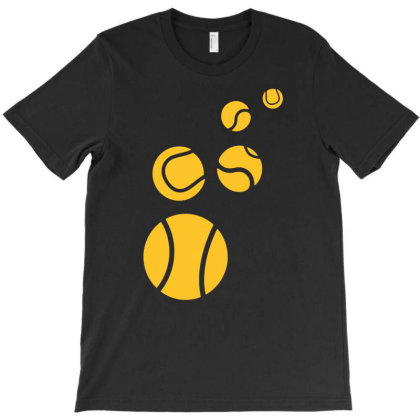 Tennis Balls T-shirt Designed By Anma4547