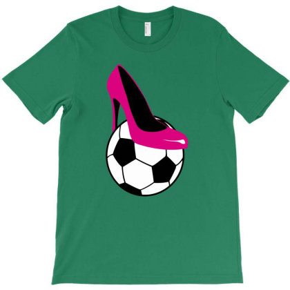 Womens Soccer T-shirt Designed By Anma4547
