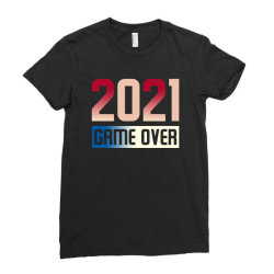 2021 Game Over Ladies Fitted T-shirt Designed By Sengul