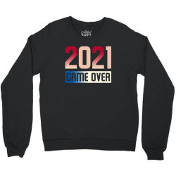 2021 Game Over Crewneck Sweatshirt Designed By Sengul
