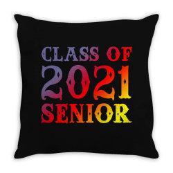 Class Of 2021 Senior Throw Pillow Designed By Sengul