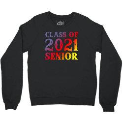 Class Of 2021 Senior Crewneck Sweatshirt Designed By Sengul