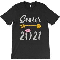 Senior 2021 Glitter T-shirt Designed By Sengul