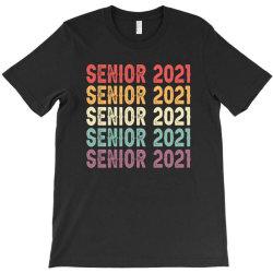 Senior 2021 Vintage T-shirt Designed By Sengul