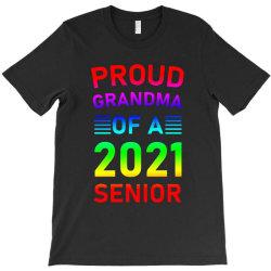 Proud Grandma Of A 2021 Senior T-shirt Designed By Sengul