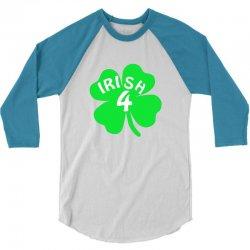 irish 4 3/4 Sleeve Shirt   Artistshot