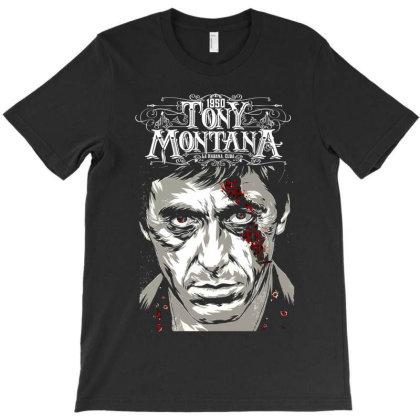 Tony Montana T-shirt Designed By Tiococacola