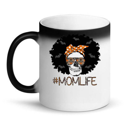 Afro Halloween Mom Magic Mug Designed By Badaudesign