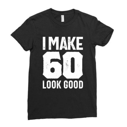 60 Years Old Gift | 60th Birthday Gift Ideas - Mens And Womens Ladies Fitted T-shirt Designed By Cidolopez