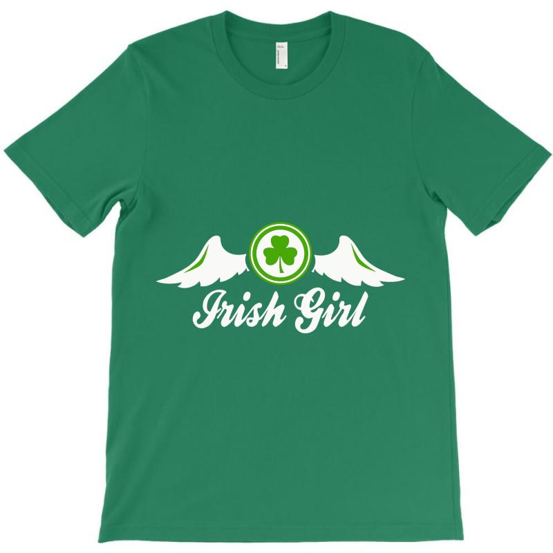 Irish Girl T-shirt | Artistshot