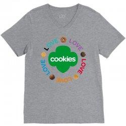 girl scouts cookie V-Neck Tee | Artistshot