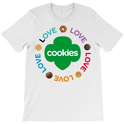Girl Scouts Cookie T-shirt Designed By Hntllc