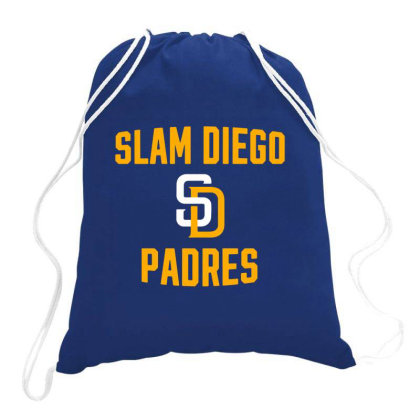 Slam Diego Merch Drawstring Bags Designed By Agnes Mond