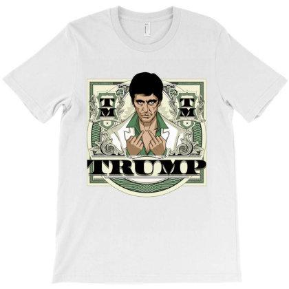 F U Trump T-shirt Designed By Tiococacola