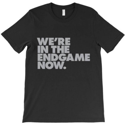 We're In The Endgame T-shirt Designed By Victor_33