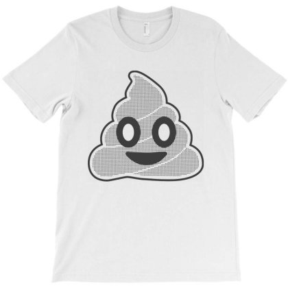 Poop Emoji T-shirt Designed By Sam Soe